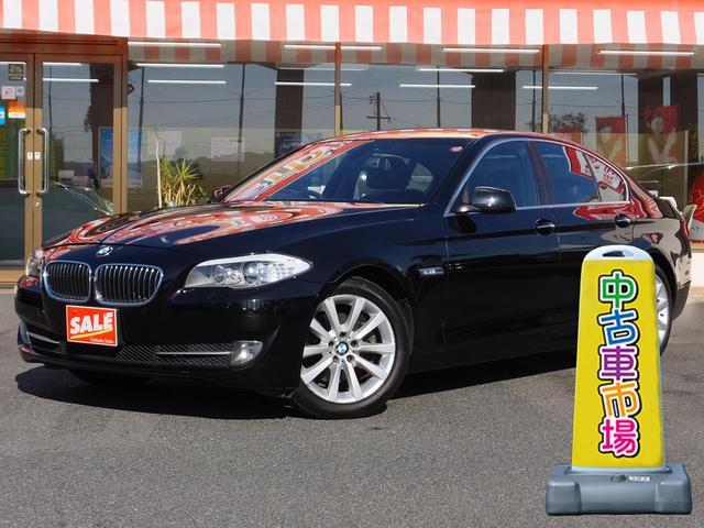 BMW 528iターボ 本革シート 純正ナビ バックカメラ