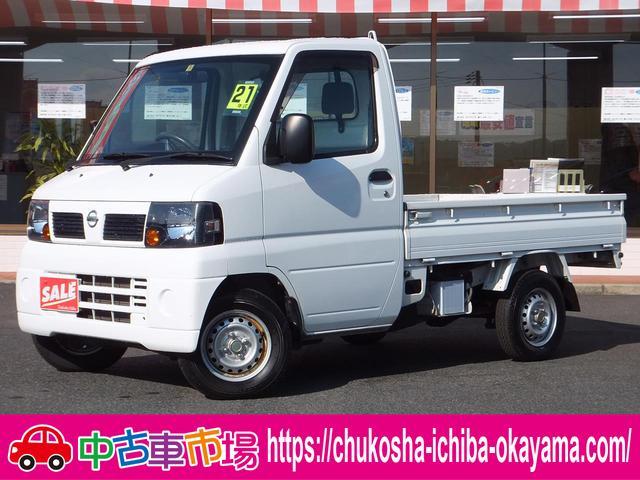 日産 NT100クリッパートラック SD 5速ミッション エアコン パワステ 純正AM/FM