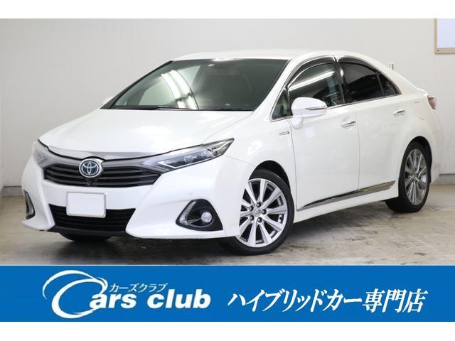 トヨタ G Aパッケージ 黒本革 レーダークルーズ 純正SDナビ