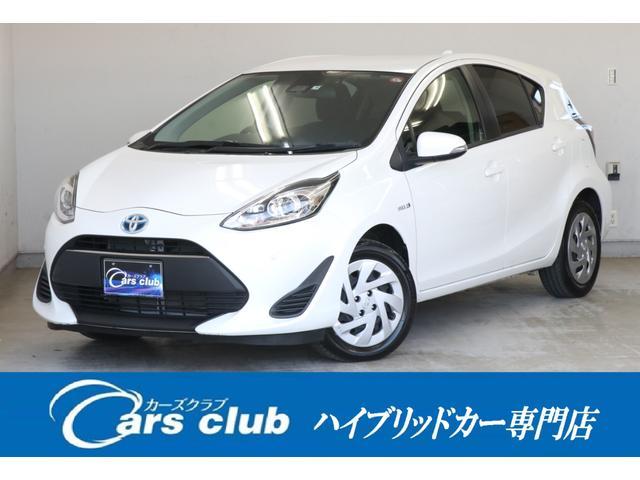 トヨタ アクア S 純正ナビ セーフティセンス スマートキー メーカー保証付