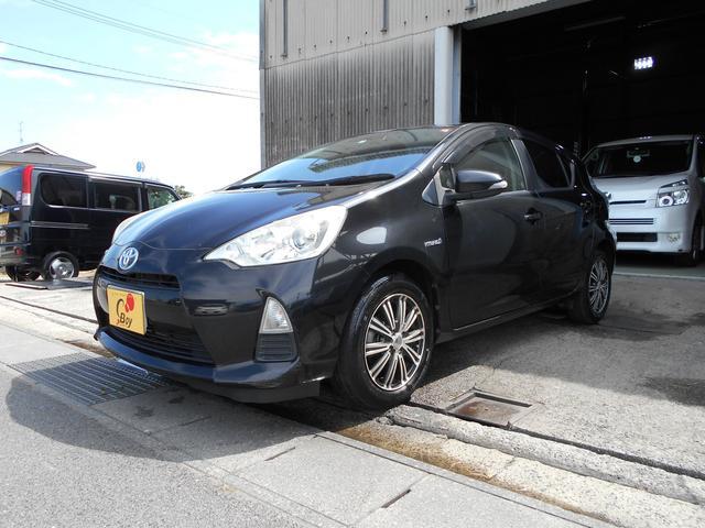 「トヨタ」「アクア」「コンパクトカー」「岡山県」の中古車