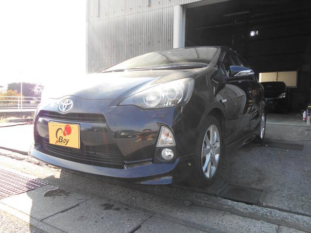 トヨタ S SDナビ ETC フルセグ エアロ LED フォグ