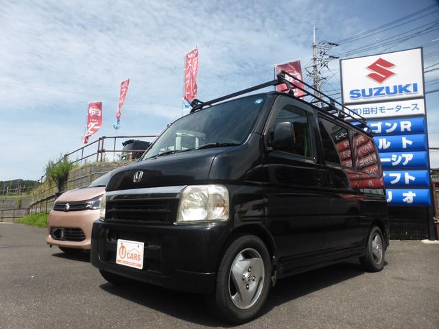 ホンダ バモス L 4AT 4WD ルーフキャリア