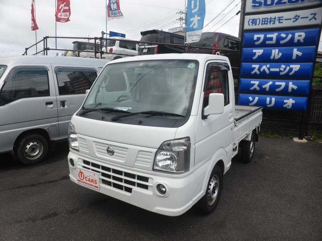 日産 NT100クリッパートラック  4WD 5MT フォグランプ パワーウインド キーレス ETC