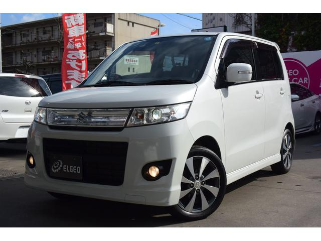 「スズキ」「ワゴンRスティングレー」「コンパクトカー」「岡山県」の中古車
