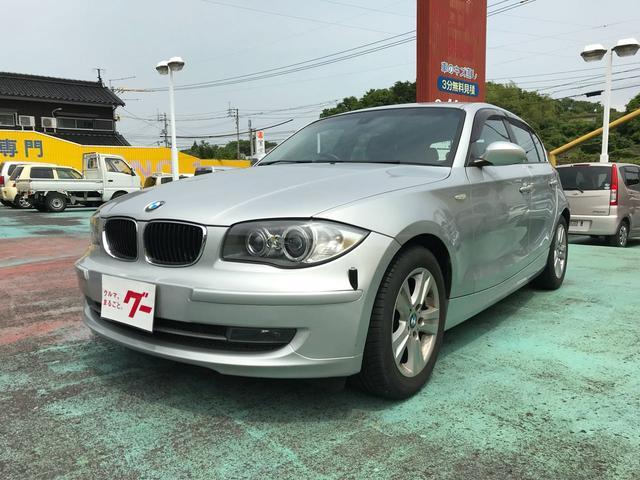 BMW 120i 黒革 キーレス プッシュスタート HDDナビ TV