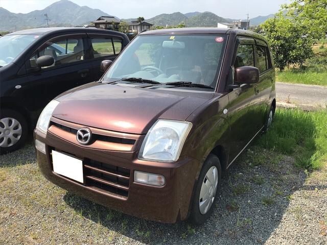 マツダ GII 軽自動車 ブラウン AT AC 4名乗り