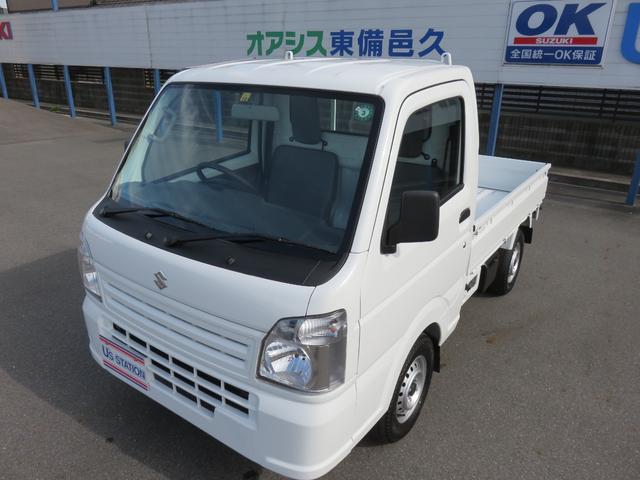 スズキ KCエアコン・パワステ 2WD 3AT スピーカ内蔵ラジオ