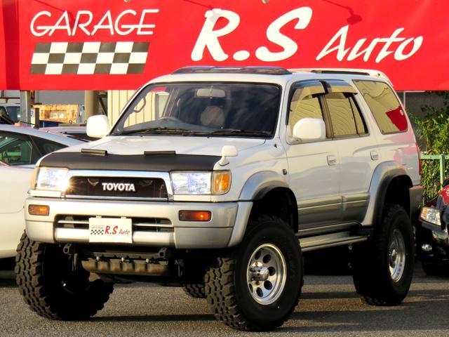 トヨタ SSR-Vリミテッド ワイド リフトアップ サンルーフ