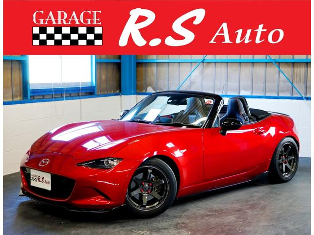 マツダ RS 1オーナー TEIN車高調 16AW 6速MT 禁煙車