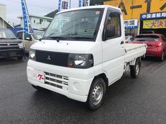 ミニキャブトラック4WD AC MT 軽トラック オーディオ付 ホワイト