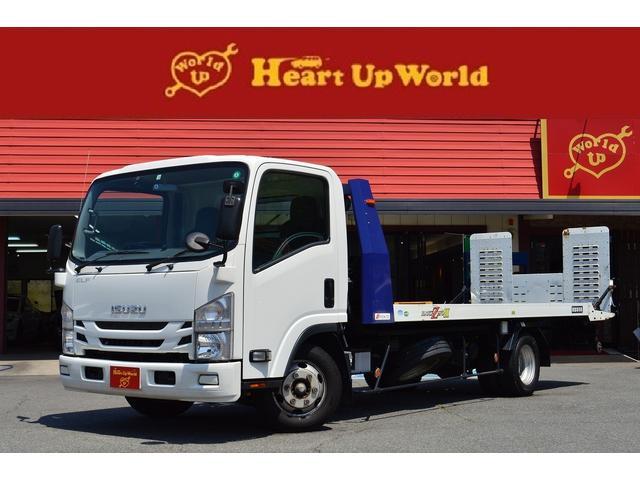 いすゞ  積載車2.85トン積み SDナビゲーション バックカメラ ドライブレコーダー ETC リモコン