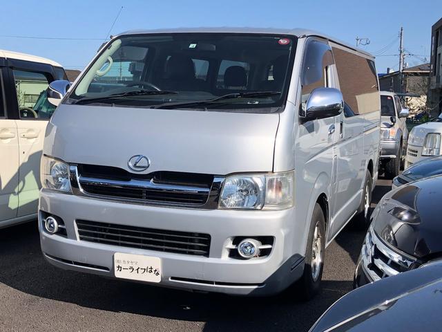 トヨタ ハイエースバン  ナビ/地デジ/DVD/バックカメラ ETC 革調シートカバー 社外15アルミ 社外テール