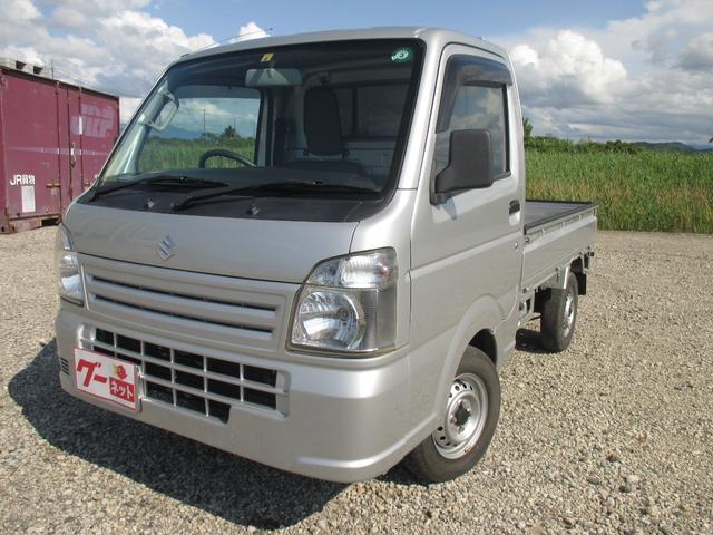 スズキ KCエアコン・パワステ 4WD・荷台アオリプロテクター