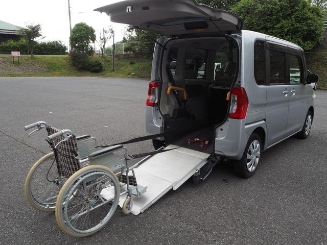 ダイハツ L スローパー リアシート付き4人乗り 電動ウインチ 福祉車両 Goo1年間無料保証付き
