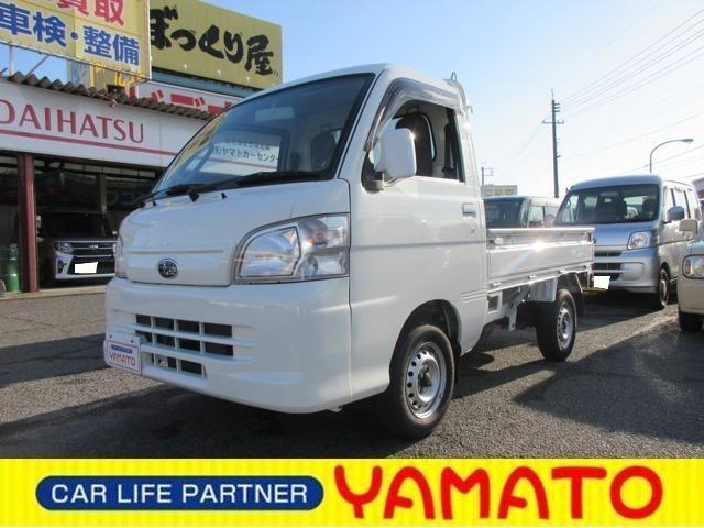 スバル サンバートラック TC 4WD MT 軽トラック オーディオ付