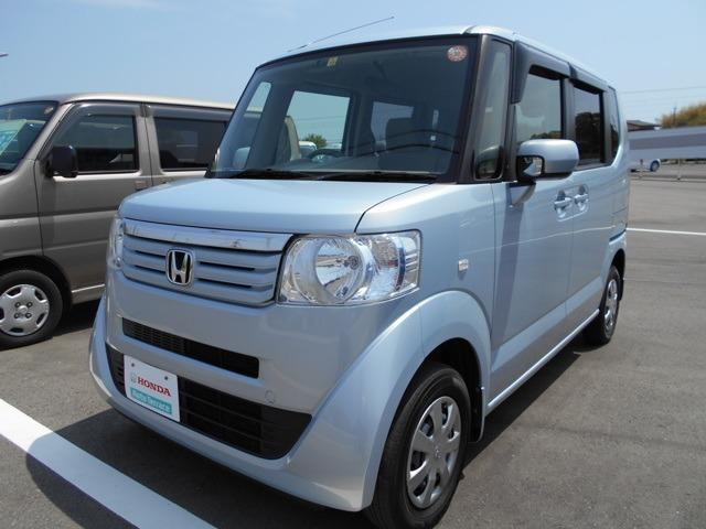 ホンダ G 軽自動車 4WD クールミストメタリック 整備付