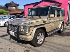 M・ベンツG500 ロング ナビ 18インチAW 4WD