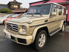 M・ベンツG500 ナビ 4WD サンルーフ AW オーディオ付