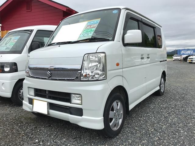 スズキ PZターボ ナビ 軽自動車 パールホワイト AT 保証付