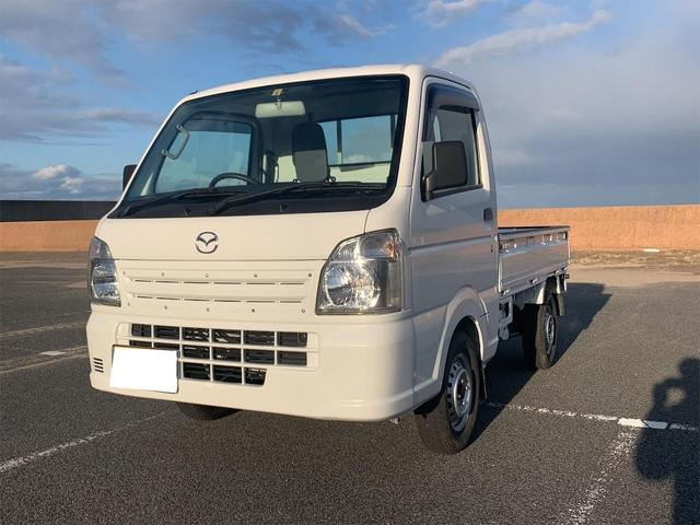 マツダ スクラムトラック KCエアコン・パワステ農繁 4WD 5速マニュアル 農繁仕様 デフロックエアコン パワステ