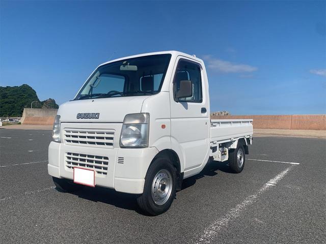 スズキ KCエアコン・パワステ 4WD 5速マニュアル 車検令和4年1月 タイヤ新品交換済み