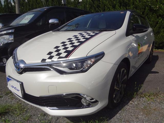 トヨタ ハイブリッドGパッケージ 試乗車 SDナビ バックカメラ