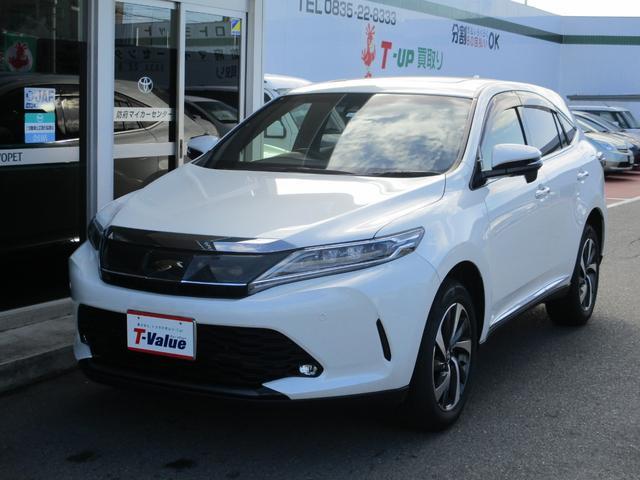 「トヨタ」「ハリアー」「SUV・クロカン」「山口県」の中古車