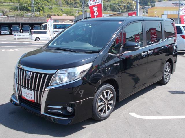 トヨタ ハイブリッドGi 純正オプショングリル 後席モニター装着車