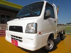 サンバートラックTB 4WD 5速マニュアル エアコン パワステ 1年保証付
