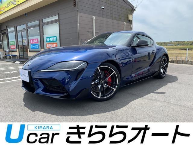 トヨタ スープラ RZ ディープブルーメタリック ナビ・バックモニター ドラレコ ETC 本革ブラック