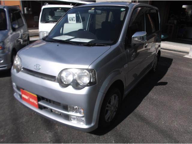 ダイハツ カスタム X 4WD キーレス CD.MD