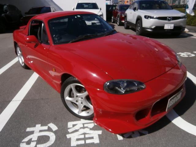 マツダ ロードスター RS 6MT ハードトップ付 純正色吹き替え塗装済み 純正LSD ビルシュタインダンパー