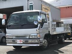 アトラストラック積載車 3t積み キャリアカー 荷台新明和製 バックカメラ