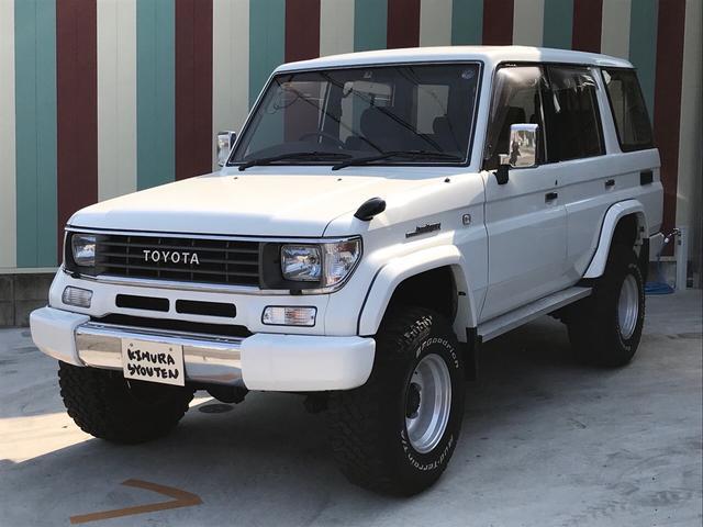 トヨタ EX 4WD サンルーフ リフトアップ Tベルト交換済み
