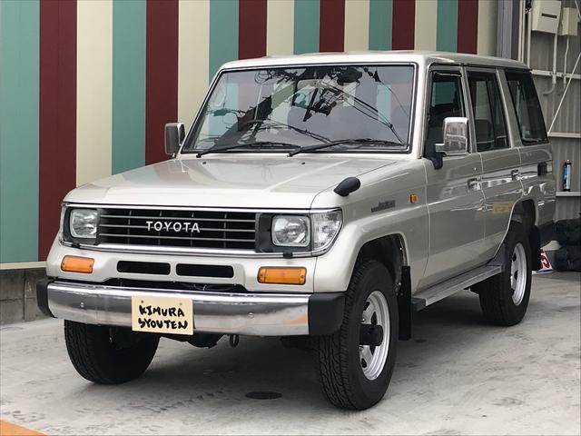 トヨタ LX 4WD ディーゼルターボ 5速MT Tベルト交換済