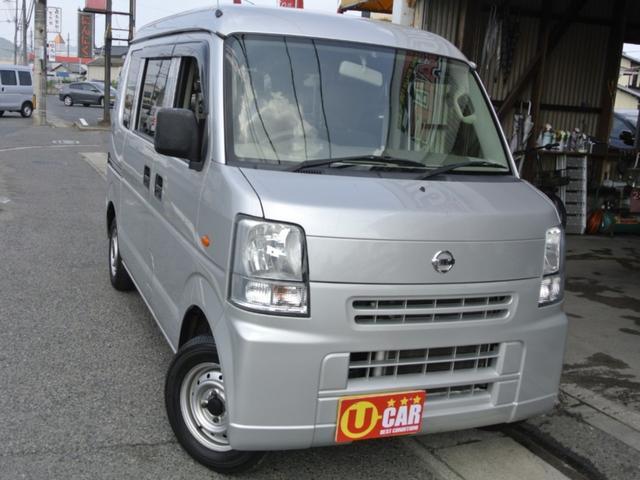 日産 DX GLパッケージ ハイルーフ キーレス ETC ファブリックシート 軽バン