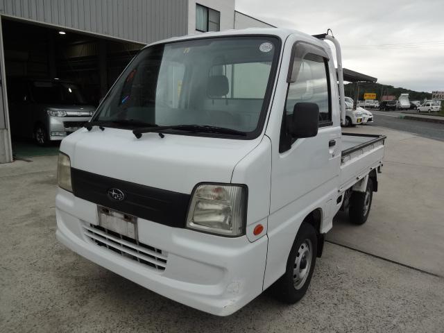 スバル サンバートラック  2WD 5MT エアコン付 パワステ付