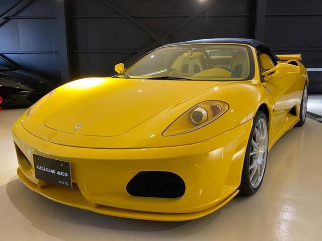 フェラーリ  D車 特別オーダー内装 カーボンブレーキ、リアチャレンジグリル チャレンジホイール カーボンスクーデリアエンブレム パワークラフトバルブ切替式マフラー
