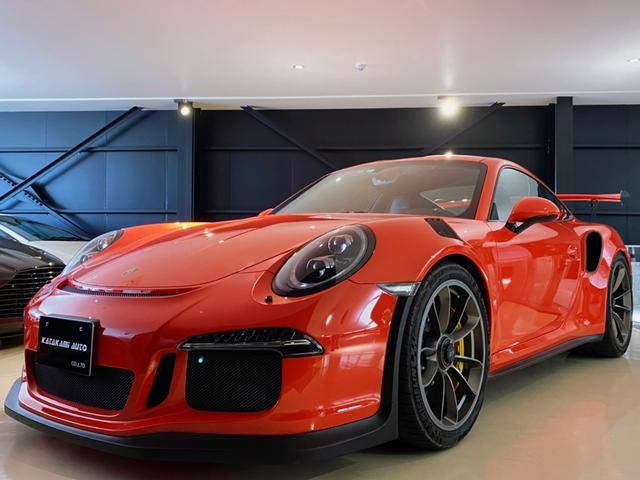 ポルシェ 911GT3RS スポーツクロノPKG カーボンセラミックブレーキ フロントリフティングシステム LEDヘッドライト アダプティブ電動スポーツシート ボディ全面プロテクションフィルム施工