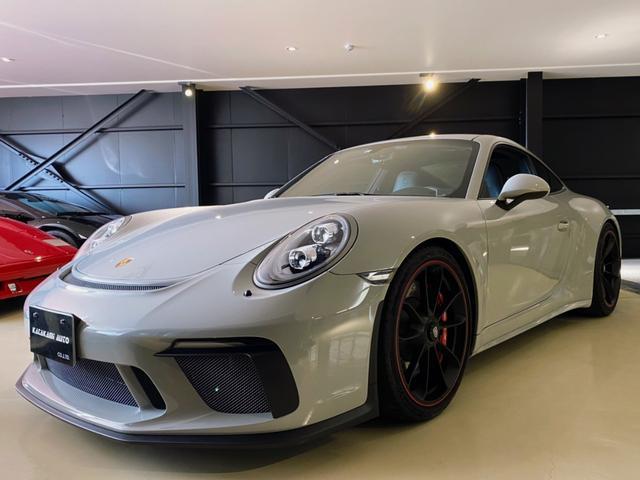 911GT3 ツーリングパッケージ ディーラー車 スポーツクロノパッケージ フロントリフティングシステム LEDヘッドライト カーボンインテリア バックカメラ シートヒーター シートエンブレムエンボス