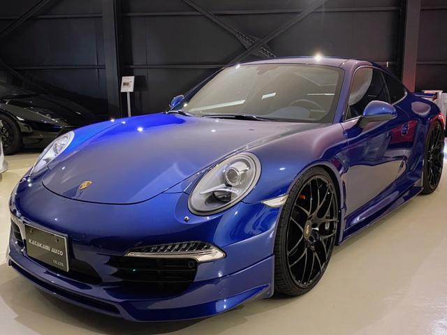 911カレラ ディーラー車 フルハーフエアロ リアウイング 22インチAW バルブ切替式マフラー バックカメラ パーキングセンサー
