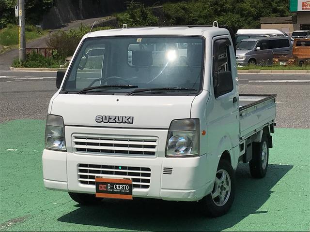 スズキ FC 4WD エアコン パワステ 5MT 軽トラック アルミ