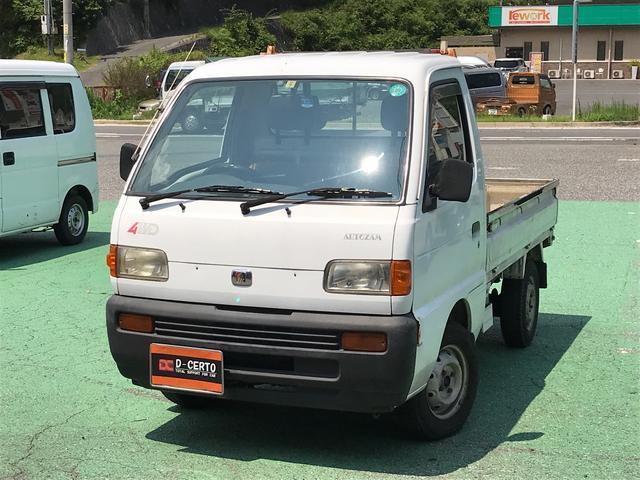 マツダ KA 切り替え式4WD エアコン 5MT 軽トラック ETC