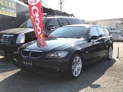 BMW320iMスポーツツーリング ナビ スマートキー 色ブラック