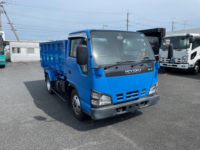 いすゞ エルフトラック  ダンプ積載2000