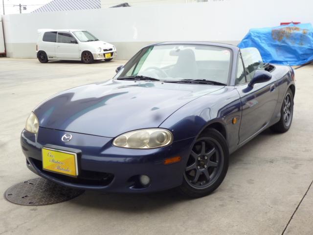 マツダ SP 5速MT オープンカー CD キーレス AW15インチ