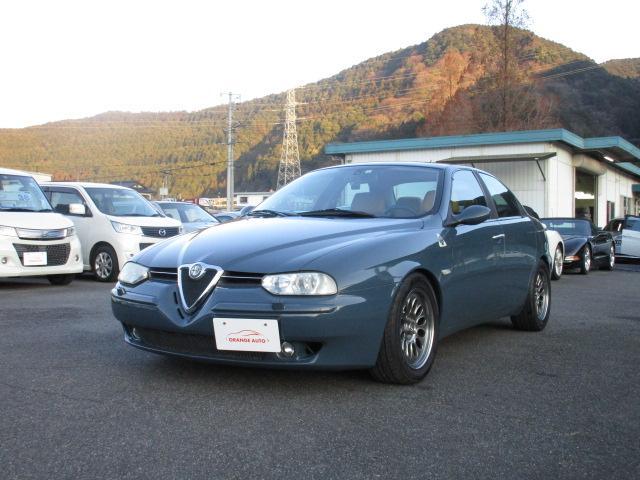 アルファロメオ アルファ156 V6 自社下取り・左ハンドル・6速MT