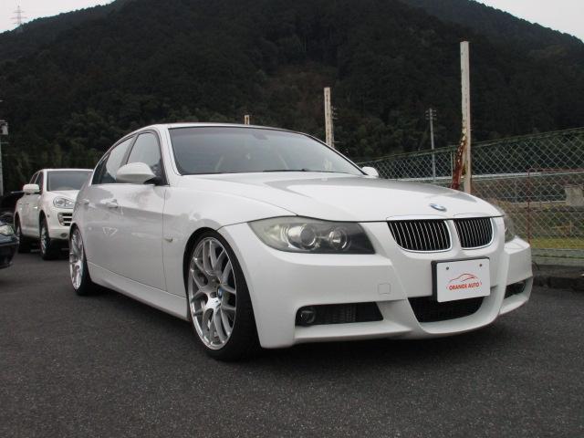 BMW  323iハイラインパッケージ・左ハンドル 本革シート 19インチアルミ