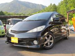 エスティマTアエラス−SHKS車高調・黒・7人・新品ナビ装着渡し